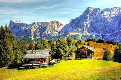 Alpine Cabins Download Jigsaw Puzzle