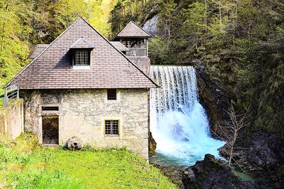 Waterfall, Austria Download Jigsaw Puzzle