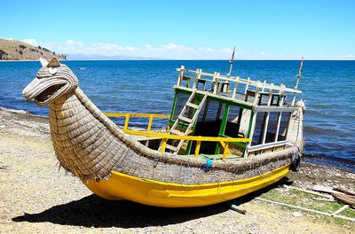Boat, Peru Download Jigsaw Puzzle
