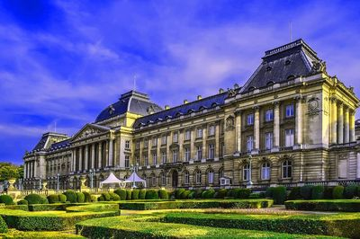 Palace, Brussels Download Jigsaw Puzzle
