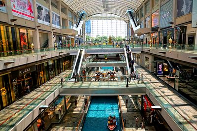 Shopping Mall, Singapore Download Jigsaw Puzzle