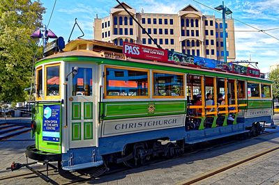 Tram, Christchurch Download Jigsaw Puzzle
