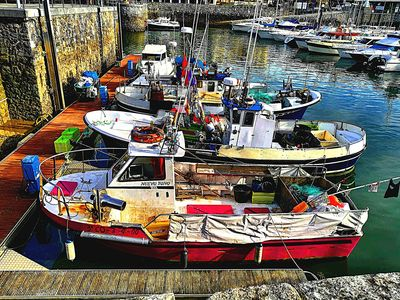 Boats, Basque Country Download Jigsaw Puzzle