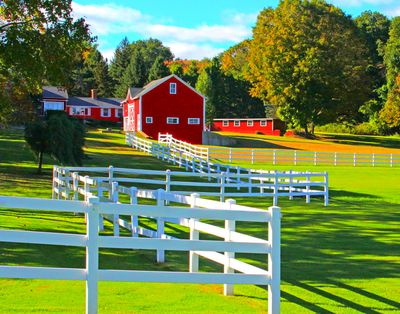 Farm, New England Download Jigsaw Puzzle