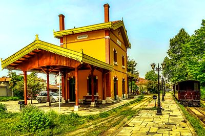Railway Station, Greece Download Jigsaw Puzzle