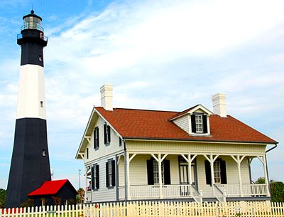 Lighthouse, Georgia Download Jigsaw Puzzle