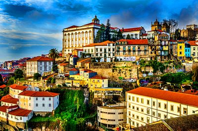 City, Portugal Download Jigsaw Puzzle