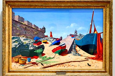 Boats Painting Download Jigsaw Puzzle