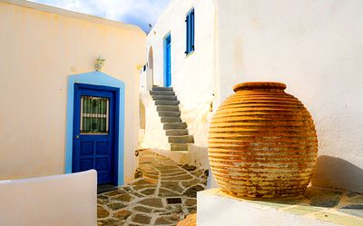 House, Greece Download Jigsaw Puzzle