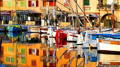 Boats, France Download Jigsaw Puzzle