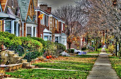 Houses, Chicago Download Jigsaw Puzzle